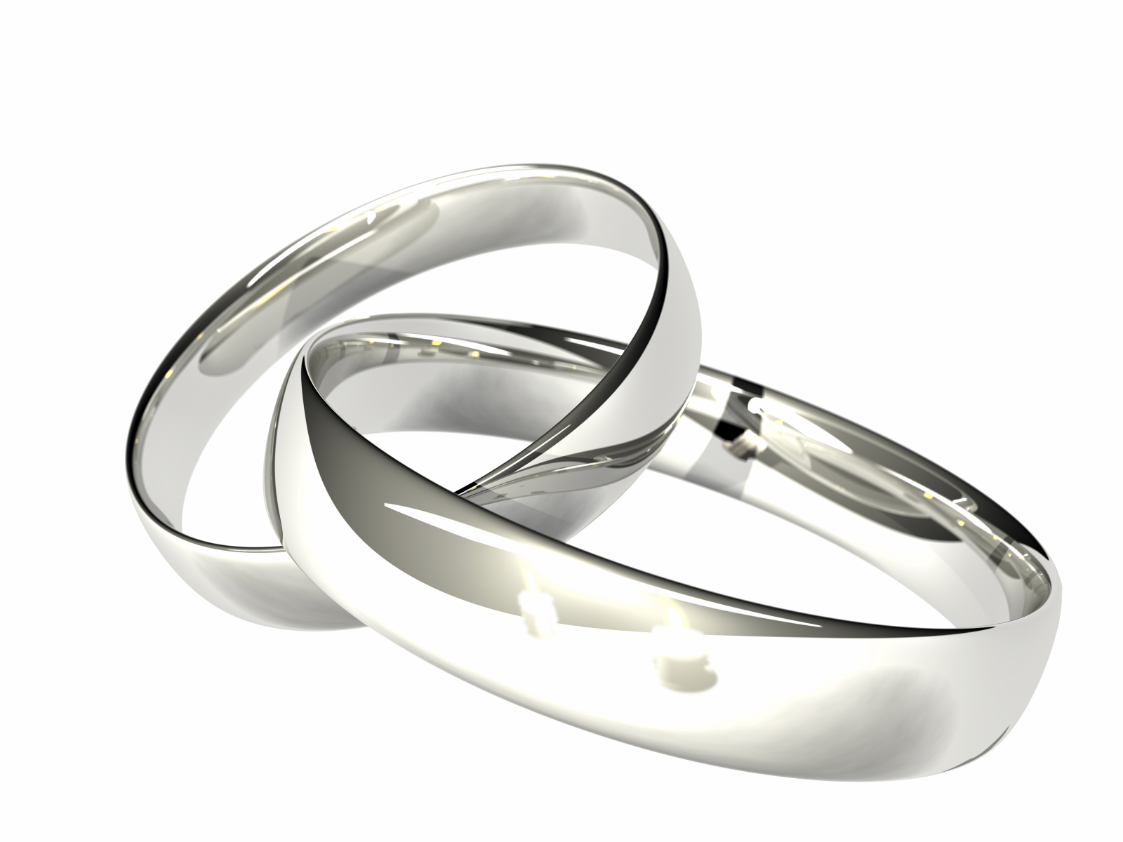Silver Wedding Rings Men